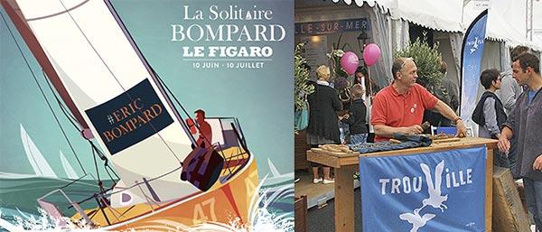 Dominique Josse - stand à la Course du Figaro