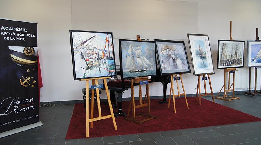 Exposition Fouesnant © Académie des Arts et Sciences de la Mer