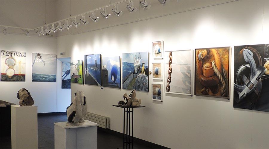 Exposition Erquy 2 © Académie des Arts et Sciences de la Mer
