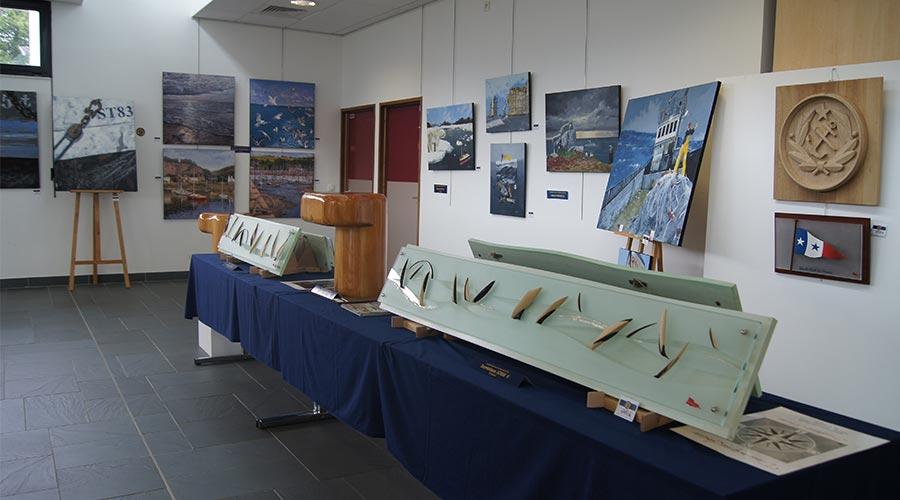 Exposition Fouesnant 2 © Académie des Arts et Sciences de la Mer