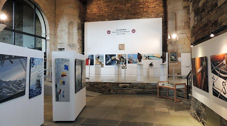 Exposition Lannion 1 © Académie des Arts et Sciences de la Mer