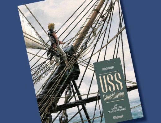 Franck Bonnet - USS-Constitution - BD - Glénat