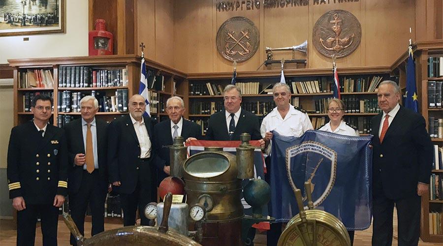 Institut d'Histoire Maritime - Pirée Grèce - 2 © Académie des Arts et Sciences de la Mer
