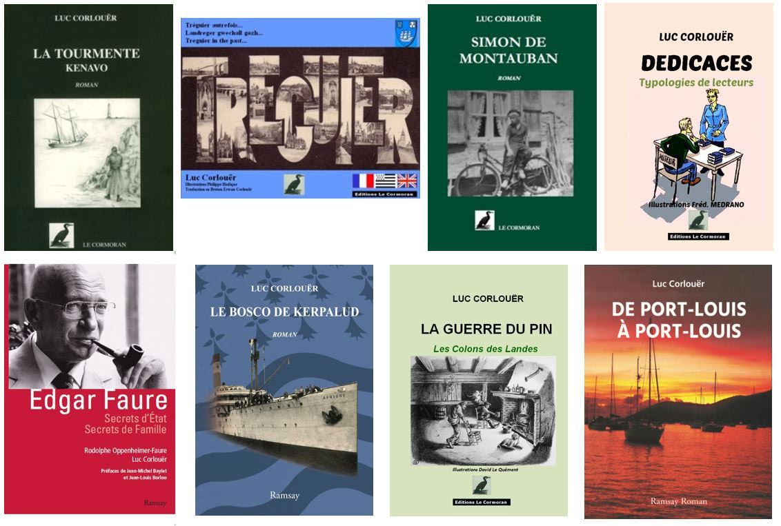 Luc Corlouër - livres