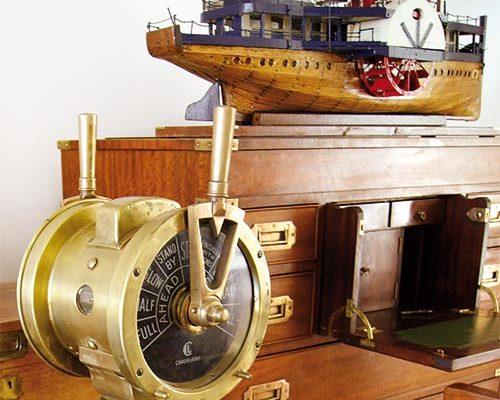 Raoul Le Lann La Timonerie Antiquités de marine