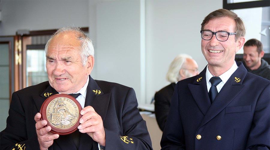Robert Boston et Marc Rohou - la Recouvrance - Brest © Académie des Arts et Sciences de la Mer