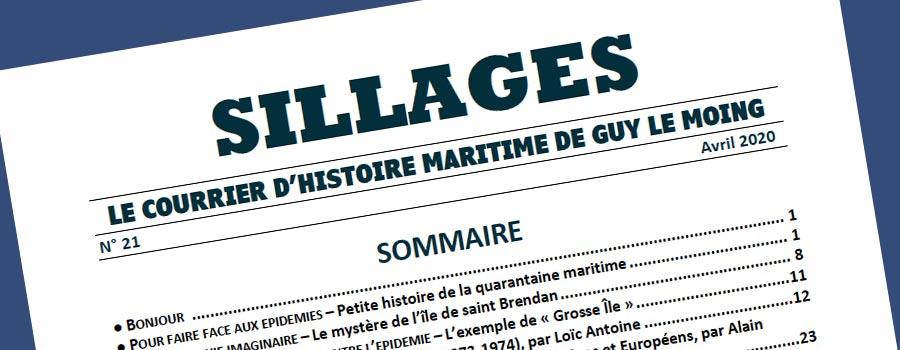 Sillages - Histoire maritime © Guy Le Moing
