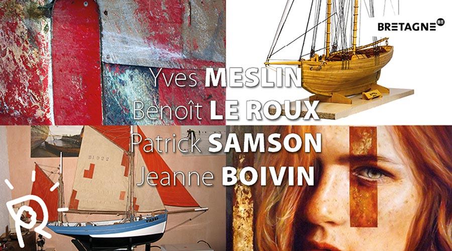 Patrick Samson Jeanne Boivin Yves Meslin Benoit Le Roux Erquy