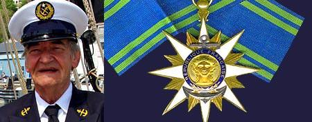 Jean Pierre Le Metayer Commandeur Ordre du Merite maritime