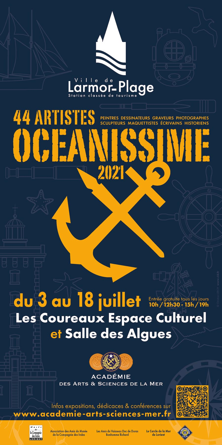 OCEANISSIME 2021 Affiche 900x1800px