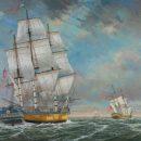 Boston Fregate HMS Rose © Académie des Arts et Sciences de la Mer