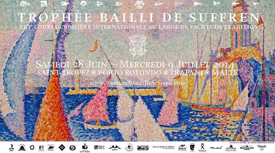 Affiche Trophée Bailli de Suffren 2014
