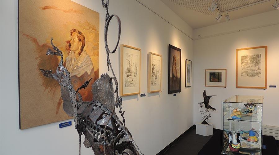 Exposition Erquy 4 © Académie des Arts et Sciences de la Mer