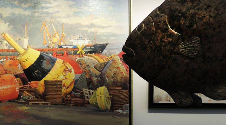 Exposition Erquy 5 © Académie des Arts et Sciences de la Mer