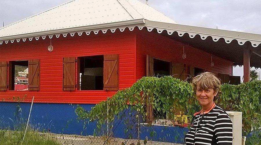 Station SNSM Martinique et Katty Scharwatt