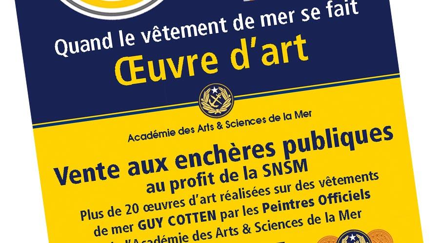 Vente Guy Cotten - SNSM - 1 © Académie des Arts et Sciences de la Mer