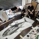Marc-Porrini-Gyotaku-XXL-atelier